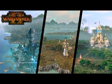 Total War: Warhammer 2 — 🔎 Анализ карты кампании (Берег Вампира, Темные эльфы, Псы Войны)
