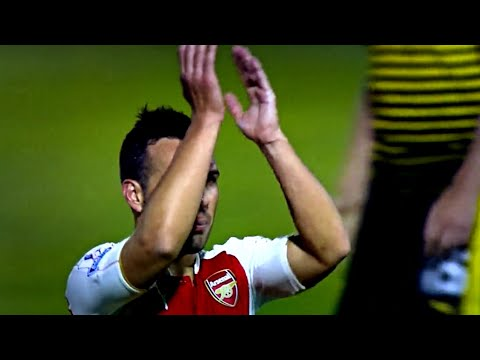 Santi Cazorla vs Watford (Away) 17/10/2015 HD