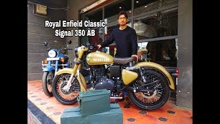 New Royal Enfield Classic 350 ABS Signals Edition Walkaround review in Hindi#BPC 1.62lacs