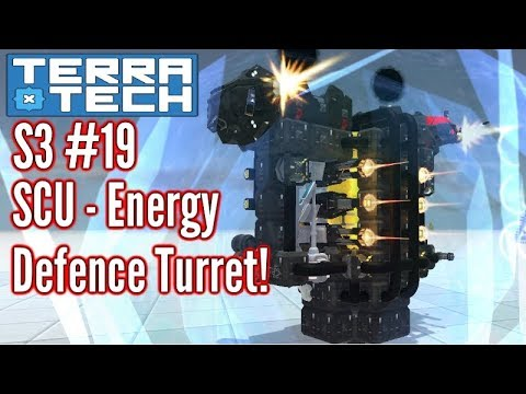 Terratech | Ep19 S3 | Power & Defence Turret! | Terratech v0.7.9 Gameplay