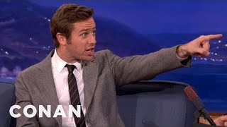 Armie Hammer Made A Real Impression In