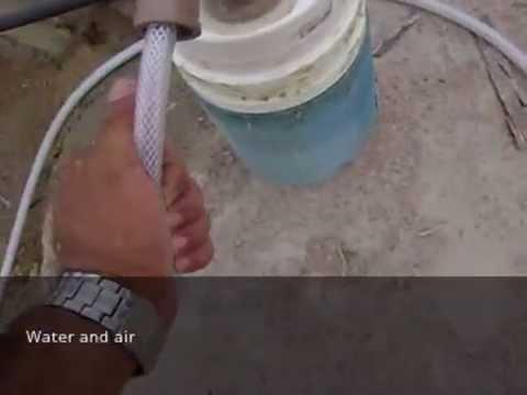 Pump Air, well, Refrigerator Magnet Motor