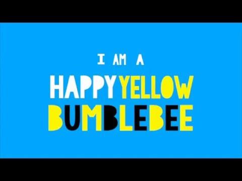 Happy Yellow Bumblebee moving type