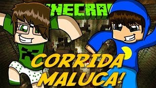 Minecraft: CORRIDA MALUCA! (Mini-Game)