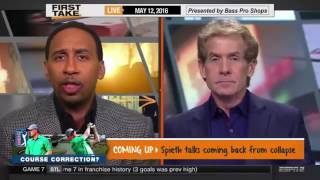 ESPN First Take   Bill Belichick On Tom Brady And Lacrosse