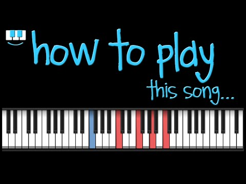 PianistAko OPM tutorial no.33 - LET ME BE THE ONE piano jimmy bondoc