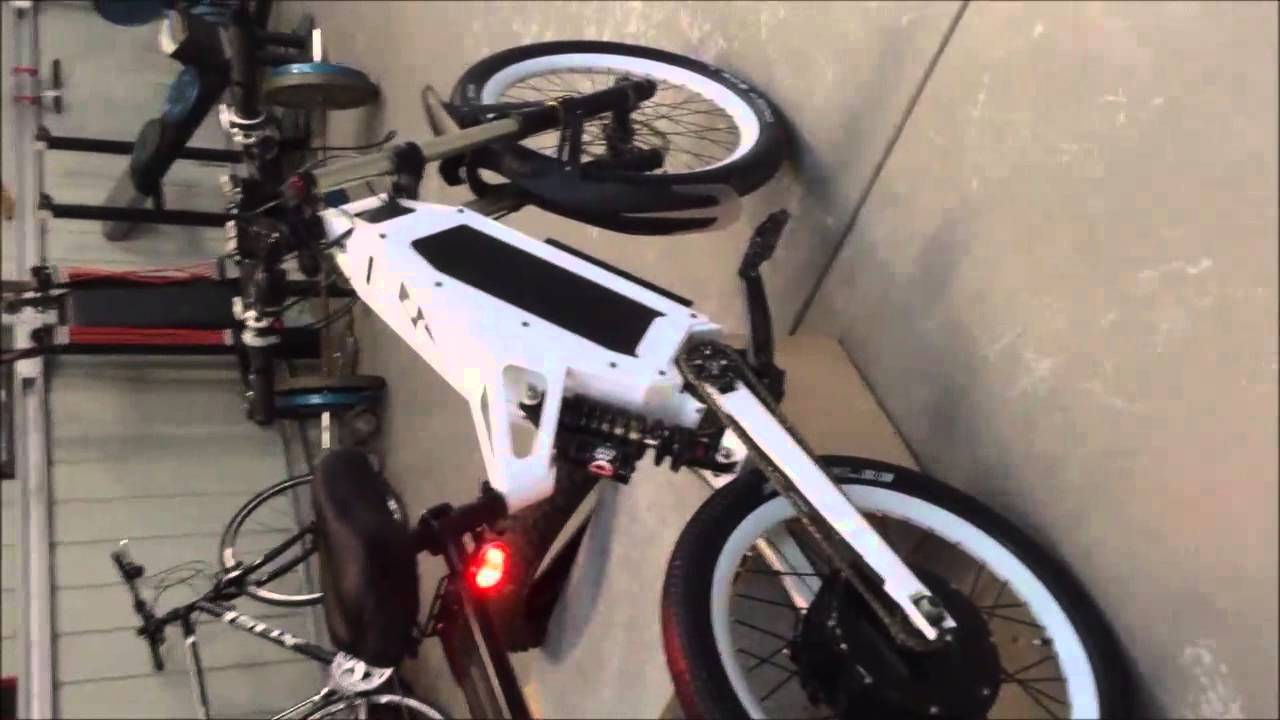 Electric Bikes For Sale Used STEALTH BOMBER ELECTRIC BIKE