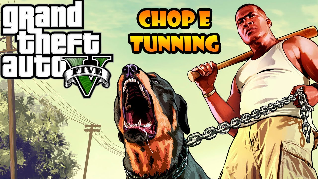 GTA V: PERSONALIZAR O CHOP NA ANIMAL ARK + TUNAR CARRO DO ...