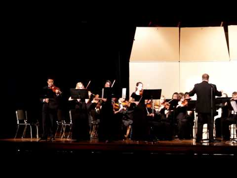 Osbourn Park High School Chamber Ensemble - Concerto for 4 Violins