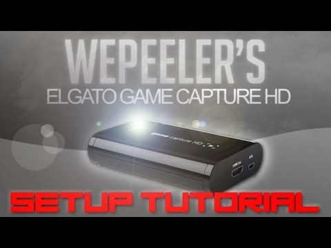 Elgato Game Capture HD Setup Tutorial Xbox 360 PS3 + Sony Vegas Settings Best Quality