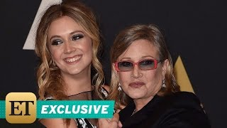 FLASHBACK EXCLUSIVE: Carrie Fisher and Daughter Bille Lourd