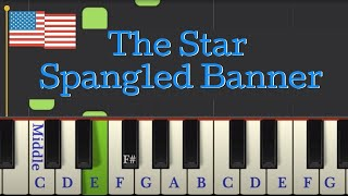 Easy Piano Tutorial The Star Spangled Banner