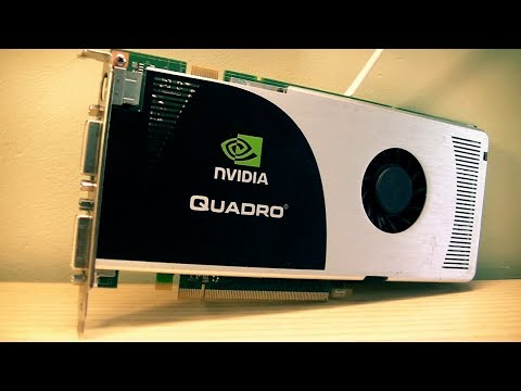 Nvidia Quadro FX 3700 Closer look | Blender, gaming, UDK