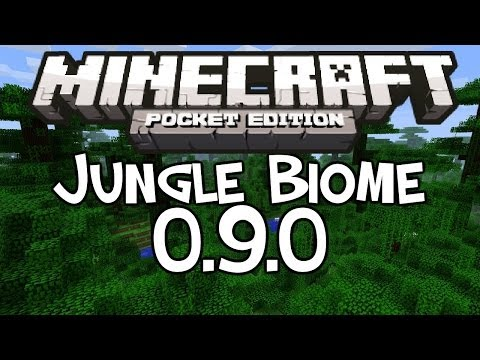 [0.9.0] Minecraft Pocket Edition - Jungle Biome Seed!