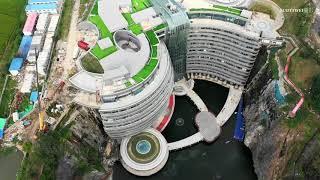 2018 9 28上海天馬深坑酒店空拍全記錄音樂版 4K60P