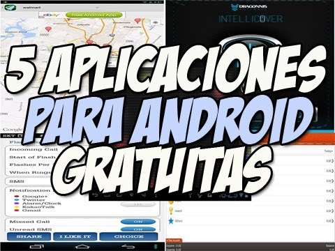 5 Aplicaciones para android DE LUJO |  IntelliCover top apps android - Happy Tech
