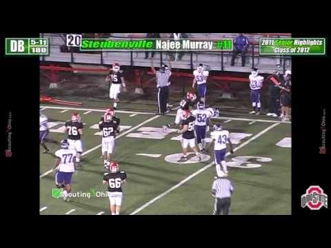 Najee Murray - Steubenville High School Football - Senior year