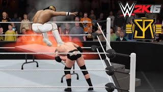 WWE 2K16 Top 5 Extreme Curb Stomps feat. Seth Rollins (PS4)