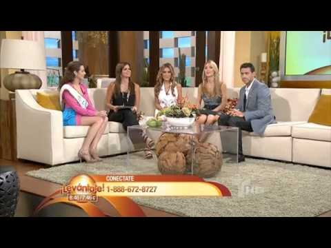 Miss Nicaragua 2011 En Levántate de TELEMUNDO MIAMI