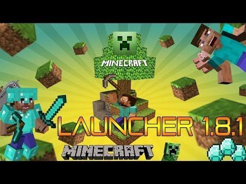 Descargar Nuevo Launcher Minecraft 1.8.1 Pirata No Premium Funciona al 100% Sin Errores