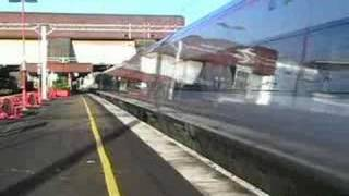 Virgin Pendolino passing Birmingham International