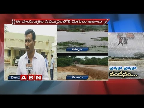 Heavy Rains in Telugu States | Roads Flooded with Rain Water
