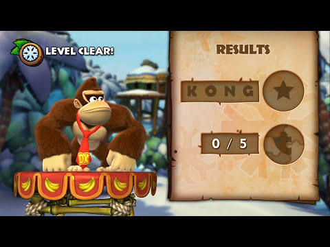 Donkey Kong Country Tropical Freeze 100% Walkthrough - World 6-1 & 6-2 (KONG, Puzzle Pieces)