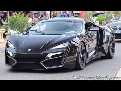 Most Expensive Car In The World >> $3.4 Million Lykan HyperSport Start Up, Sound and Driving - YouTube
