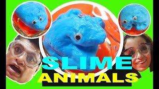 DIY SLIME ANIMALS - Most Satisfying