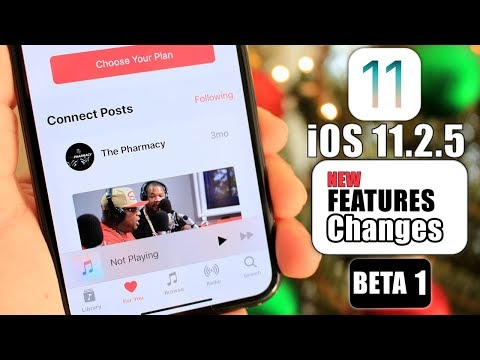 iOS 11.2.5 |  New Features & Changes