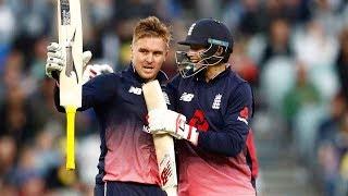 England v Australia 1st ODI highlights   Jason Roy smashes the Aussies!