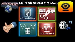 Como Cortar Videos, Audio y Mas...|Online