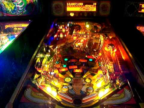 Indiana Jones Arcade Pinball Machine Eternal Life!