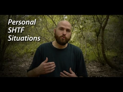 Personal SHTF Situation -- Prepper Survival Preparedness HD