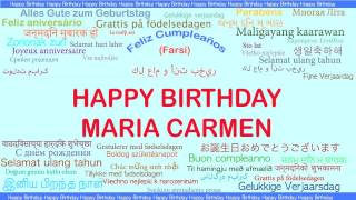 MariaCarmen   Languages Idiomas - Happy Birthday