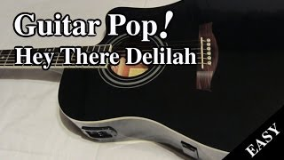 Download Lagu Hey There Delilah Guitar Lesson - Plain White Ts - Easy Guitar Tutorial Gratis STAFABAND