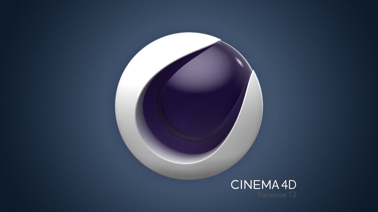Cinema 4d wallpaper template