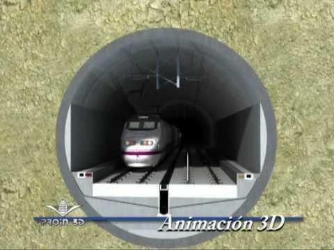 Selección de animaciones, fotomontajes, vídeomontajes y fragmentos editados de líneas de alta velocidad española.