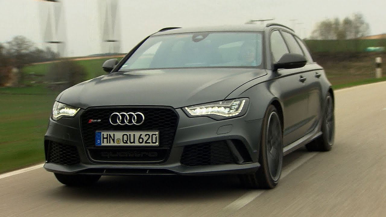 neu audi rs 6 avant testfahrt youtube. Black Bedroom Furniture Sets. Home Design Ideas