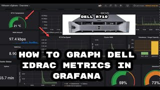 How to get Dell iDRAC6 Temp, power, voltage graphs in Grafana