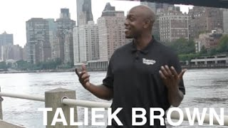 Taliek Brown - UConn National Champ PG - Talks Junior HS, College, Wild Time Hooping In Venezuela