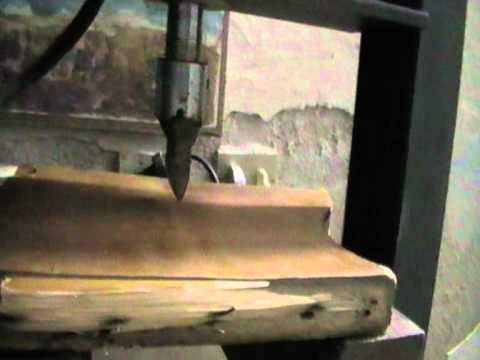 Piccola pressa idraulica