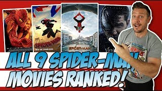 All 9 Spider-Man and Venom Movies Ranked!