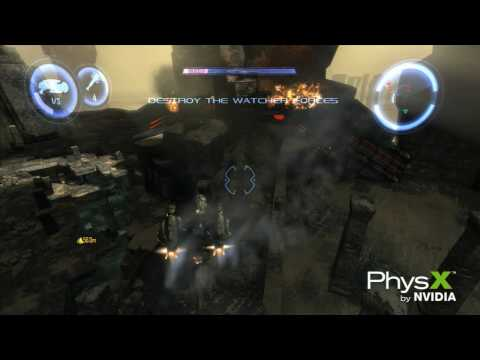 Dark Void PC Game Technology Trailer Featuring NVIDIA PhysX Technology