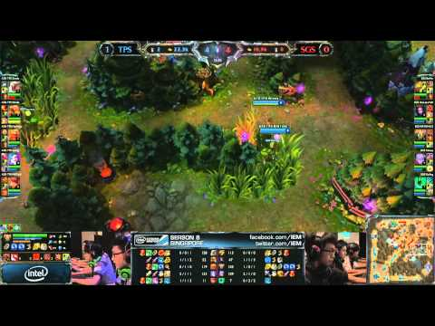 Taipei Snipers vs Singapore Sentinels Game 2 | Quarter Finals IEM Singapore 2013 | SGS vs TPS G2