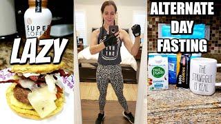 LAZY ALTERNATE DAY FASTING! | I STRUGGLE TO! | NICOLE BURGESS