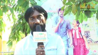 Michael  Arun At Nisaptham Movie Team Interview
