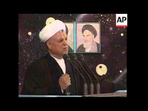 IRAN: TEHRAN: ELECTIONS