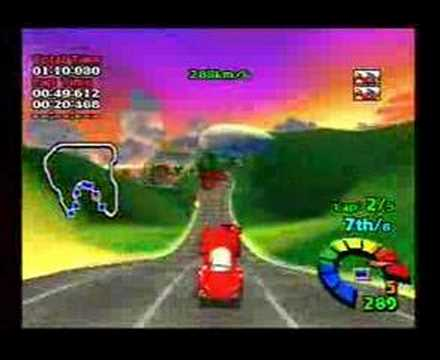 Playstation - Motor Toon Grand Prix 2 gameplay