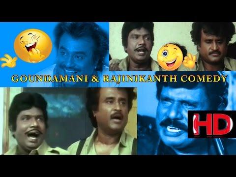 Rajinikanth and Goundamani comedy | Mannan | FULL COMEDY